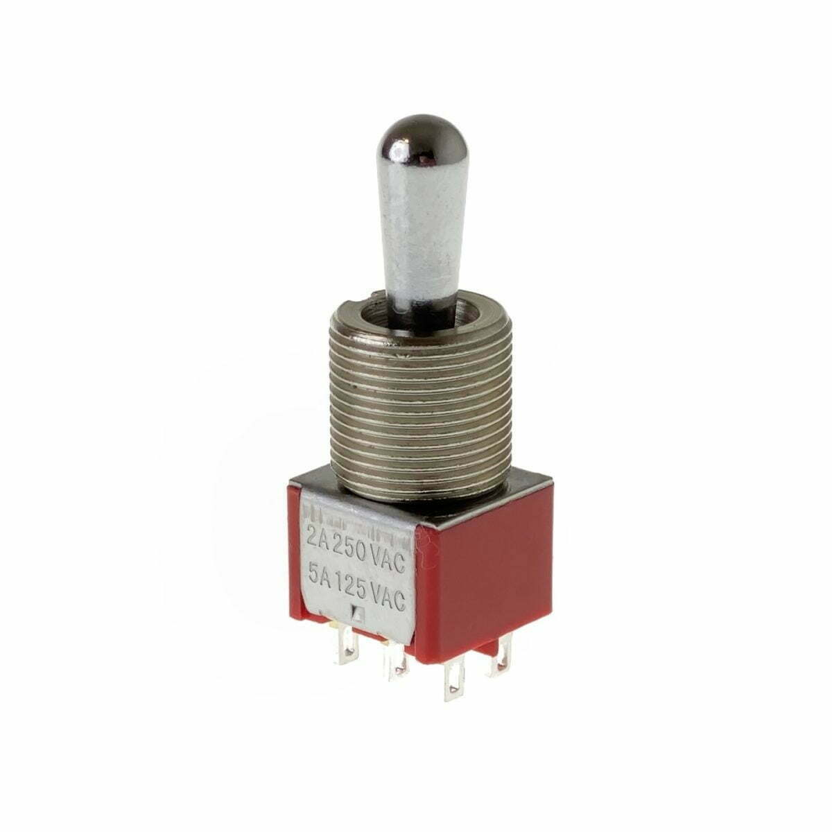 Fat Bat DPDT On-On-On Toggle Switch