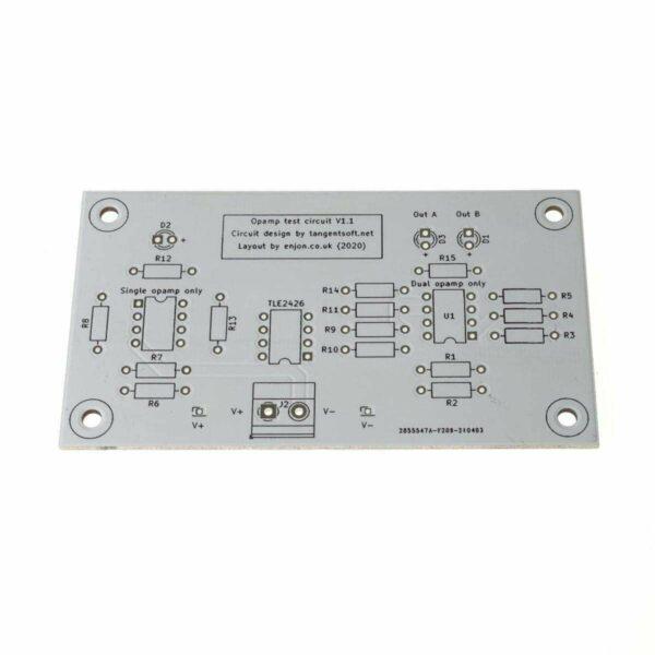 DIY Op-Amp Tester PCB