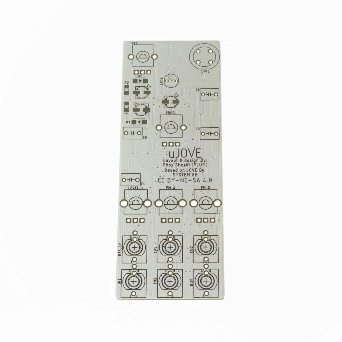 Plum Audio uJove PCB Front