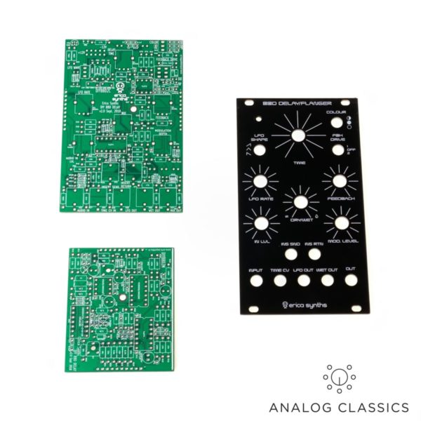 Erica Synths BBD Delay/Flanger PCB Set