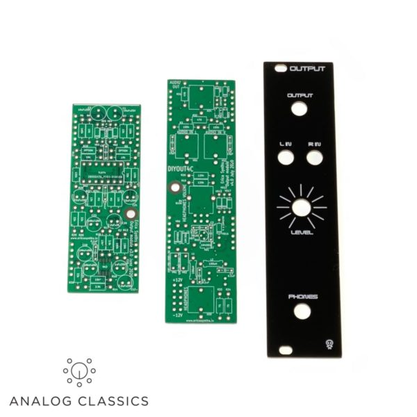 Erica Synths Output II PCB & Panel Set at Analog Classics