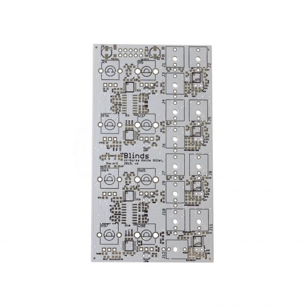 Mutated Blinds PCB Front