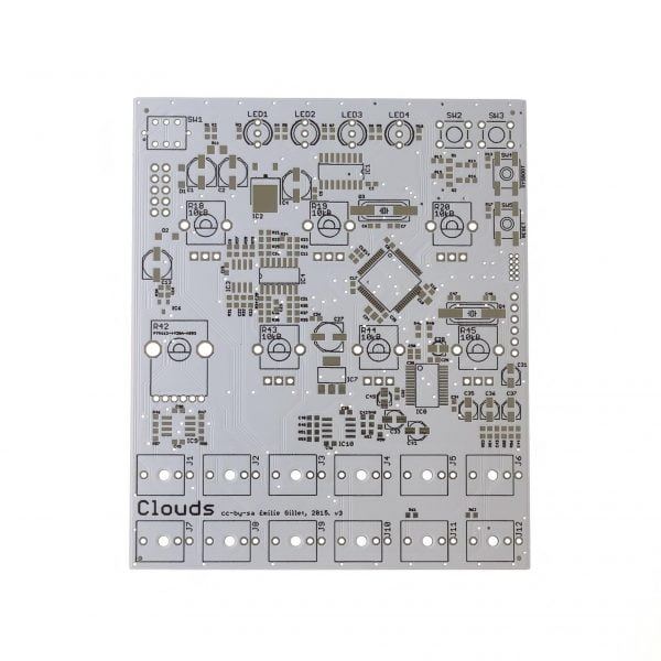Mutated Clouds PCB Front