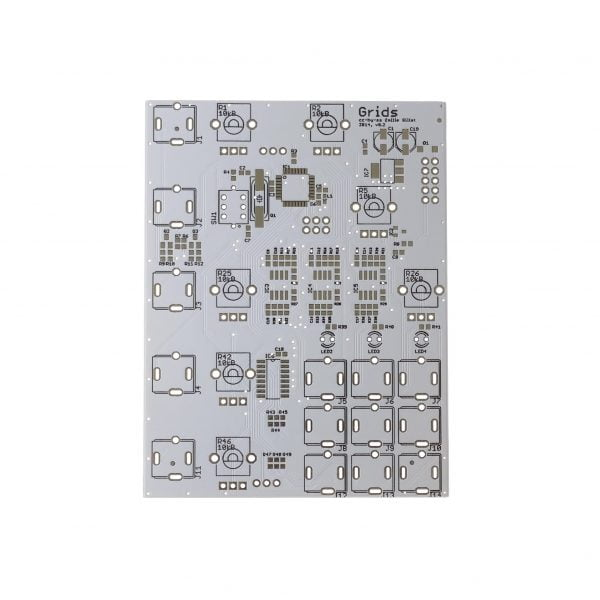 Mutated Grids PCB Front