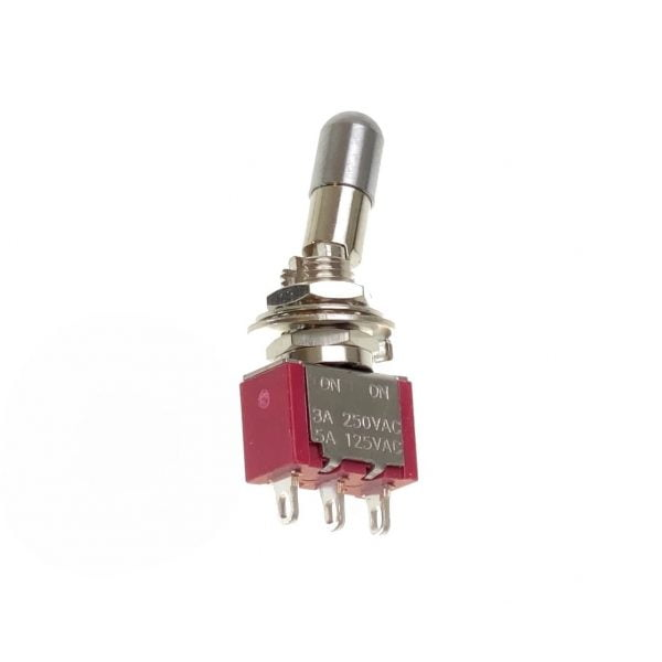 ON-ON SPDT Locking Lever Mini Toggle Switch 1