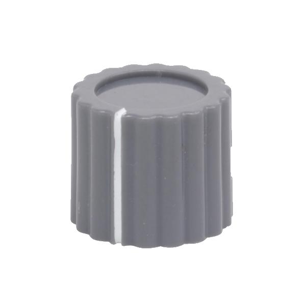 neve marconi knob fluted round grey 1
